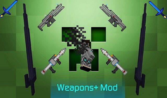 9a41d  Weapons Mod [1.7.2] Weapons + Mod Download