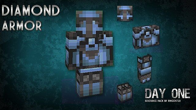 dc493  Day one resource pack 9 [1.7.10/1.6.4] [16x] Day One Texture Pack Download