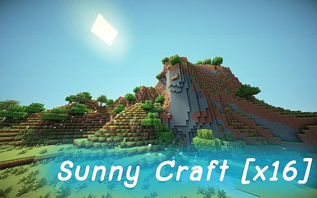 e88d2  Sunny Craft pack [1.7.10/1.6.4] [16x] Sunny Craft Texture Pack Download