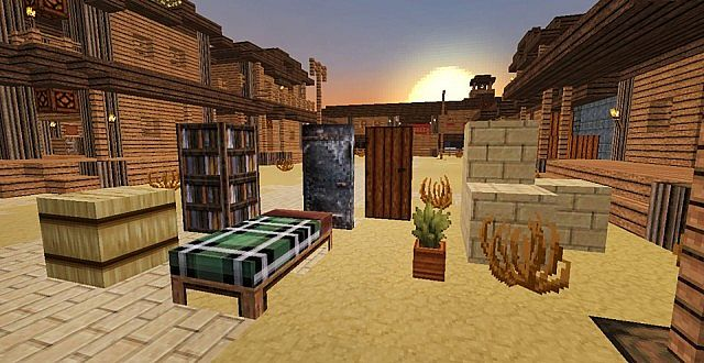 f4460  Western style resource pack 1 [1.7.10/1.6.4] [32x] ICrafting's Western Style Texture Pack Download