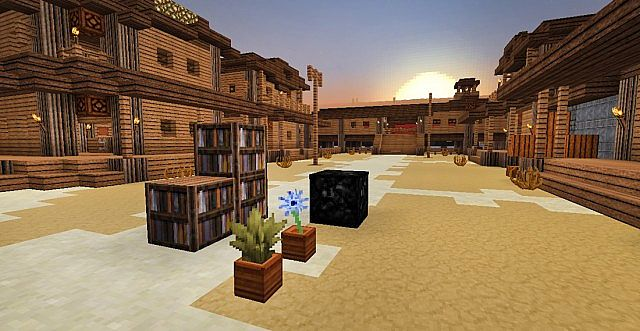 f4460  Western style resource pack 2 [1.7.10/1.6.4] [32x] ICrafting's Western Style Texture Pack Download