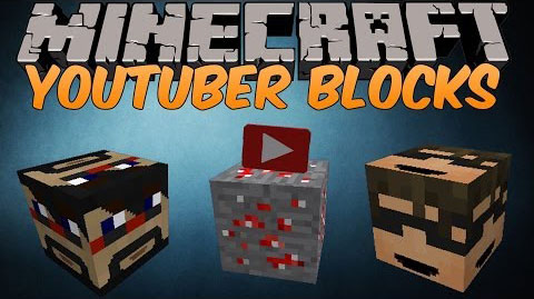 0a644  Youtuber Blocks Mod [1.7.10] Youtuber Blocks Mod Download