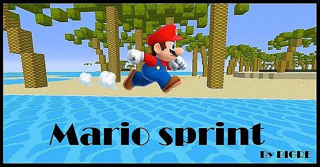2c349  Mario Sprint Map [1.7.9/1.7.2] Mario Sprint Map Download