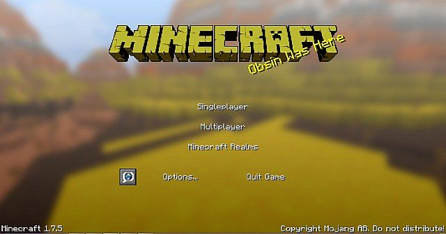 36782  Obsincraft resource pack 1 [1.7.10/1.6.4] [16x] Obsincraft Texture Pack Download
