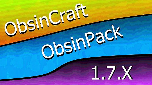 36782  Obsincraft resource pack [1.7.10/1.6.4] [16x] Obsincraft Texture Pack Download
