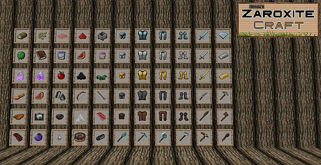 4a128  Zaroxite craft pack 6 [1.9.4/1.8.9] [32x] Sibogy's ZAROXITE Craft Texture Pack Download