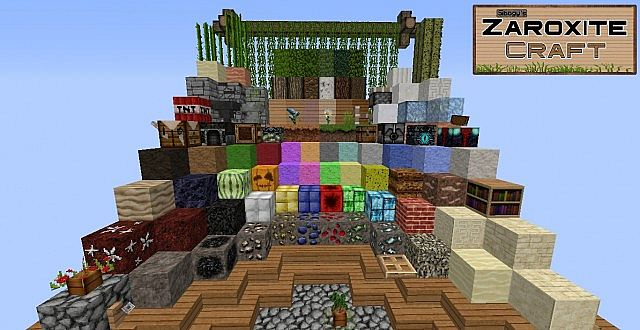 4a128  Zaroxite craft pack 9 [1.9.4/1.8.9] [32x] Sibogy's ZAROXITE Craft Texture Pack Download