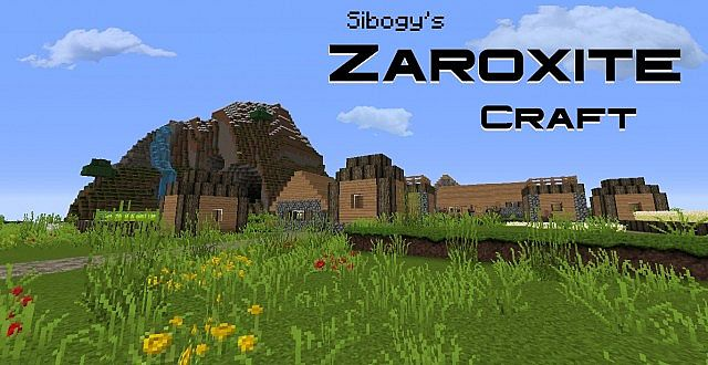 4ebeb  Zaroxite craft pack [1.9.4/1.8.9] [32x] Sibogy's ZAROXITE Craft Texture Pack Download