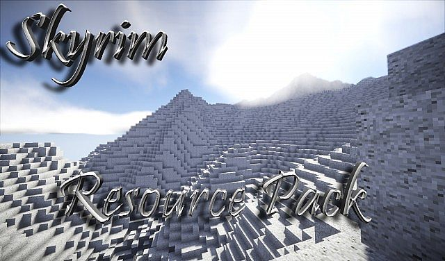 734a2  Zombies skyrim pack [1.9.4/1.8.9] [32x] Zombie's Skyrim Texture Pack Download