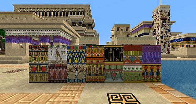 c06b6  Ancient egypt pack 1 [1.7.10/1.6.4] [16x] Ancient Egypt Texture Pack Download