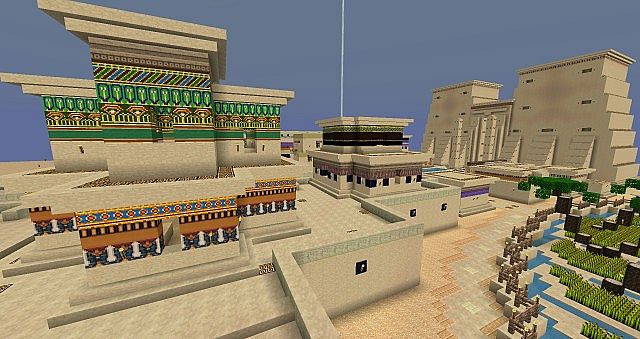 c06b6  Ancient egypt pack 5 [1.7.10/1.6.4] [16x] Ancient Egypt Texture Pack Download