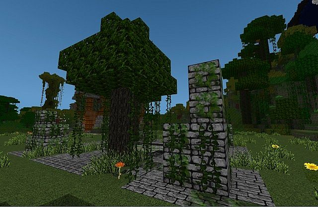 db5a9  Elements resource pack 11 [1.7.10/1.6.4] [64x] Elements Texture Pack Download
