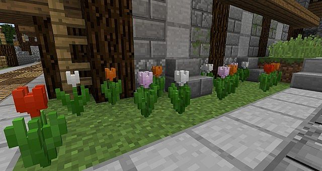 ded01  Default 3D resource pack 4 [1.9.4/1.9] [16x] Default 3D Texture Pack Download