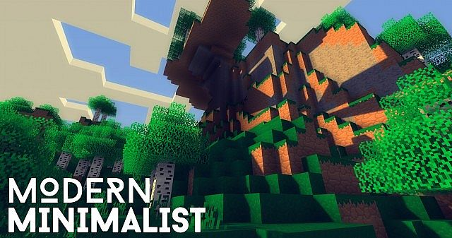 3c227  Modern minimalist resource pack [1.7.10/1.6.4] [16x] Modern Minimalist Texture Pack Download
