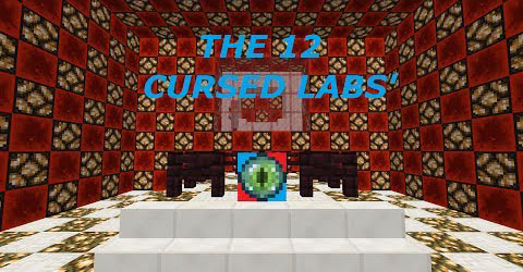 4c248  The 12 Cursed Labs Map [1.7.10] The 12 Cursed Labs' Map Download