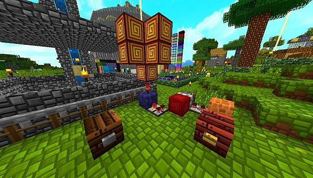 621ba  Decor resource pack 8 [1.7.10/1.6.4] [32x] Décor Texture Pack Download