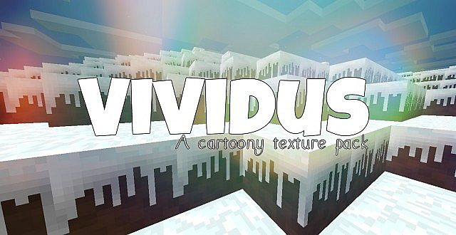 89879  Vividus resource pack [1.7.10/1.6.4] [16x] Vividus Texture Pack Download