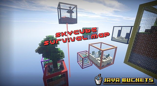 960e7  Sky Cubes Survival Map 1 [1.7.10] Sky Cubes Survival Map Download