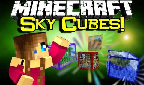960e7  Sky Cubes Survival Map [1.7.10] Sky Cubes Survival Map Download