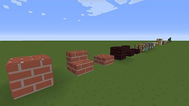 e0394  Simplejcraft 3d resource pack [1.7.10/1.6.4] [16x] SimpleJCraft 3D Texture Pack Download