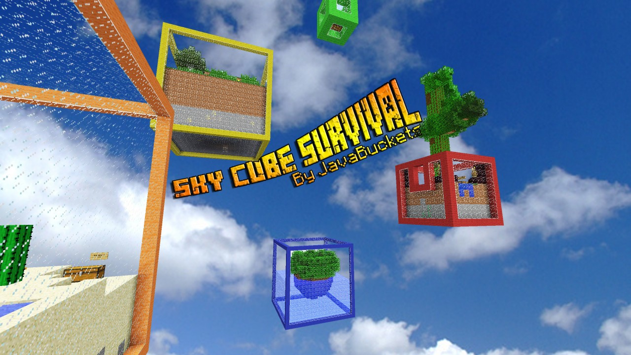 f8a85  Sky Cubes Survival Map 11 [1.7.10] Sky Cubes Survival Map Download