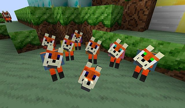 03576  Fox craft texture pack 1 [1.9.4/1.8.9] [16x] Fox Craft Texture Pack Download