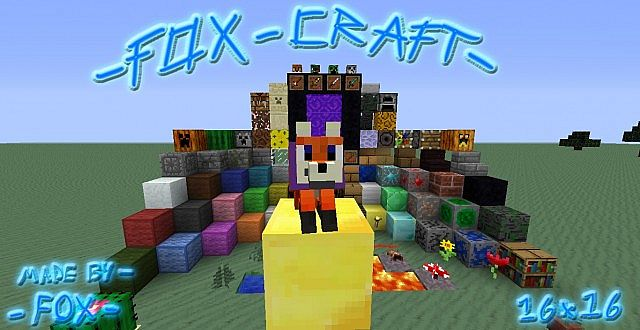 03576  Fox craft texture pack [1.9.4/1.8.9] [16x] Fox Craft Texture Pack Download