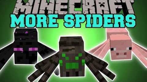 1e3d5  Much More Spiders Mod [1.7.10] Much More Spiders Mod Download