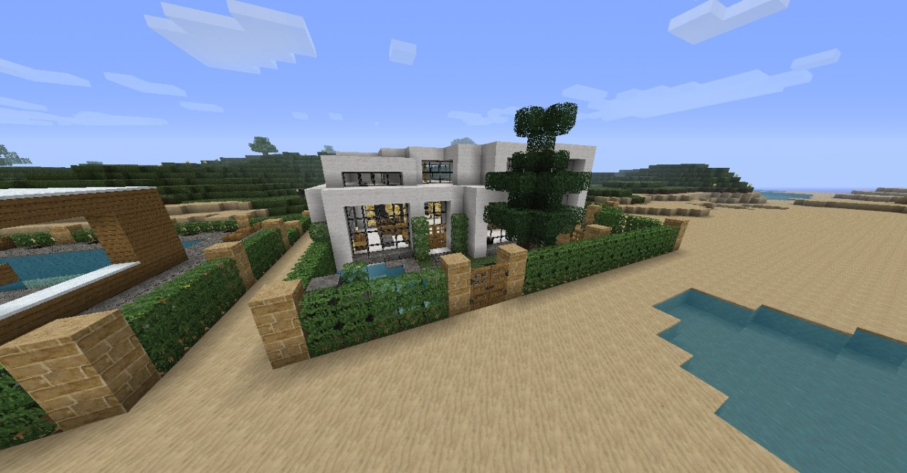 2011 11 30 225321 919655 Minecraft Modern House Map Download