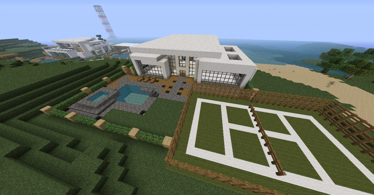 2011 11 30 225440 919669 Minecraft Modern House Map Download