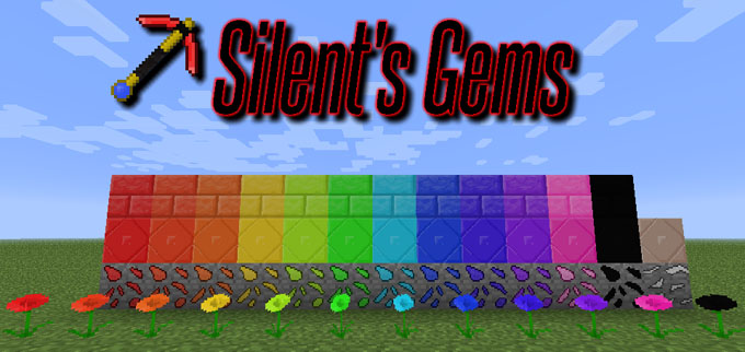20a60  Silents Gems Mod [1.7.10] Silent's Gems Mod Download