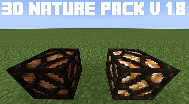 6cbf0  3d nature resource pack [1.9.4/1.8.9] [16x] 3D Nature Texture Pack Download