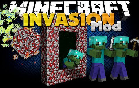 159d6  Invasion mod by unstoppablen [1.7.10] Invasion Mod Download by unstoppableN