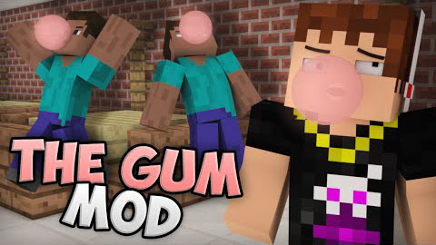 57948  Chewing Gum Mod [1.7.10] Chewing Gum Mod Download