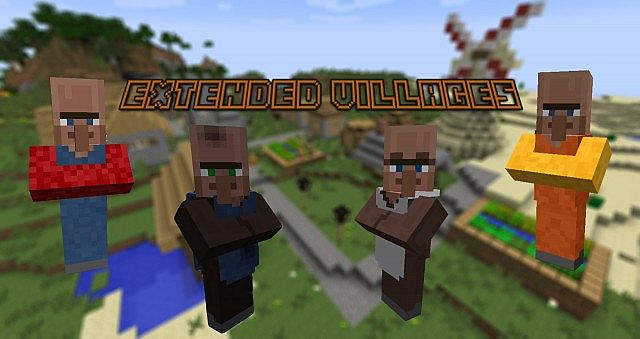 6e91c  Extended Villages Mod [1.7.10] Extended Villages Mod Download