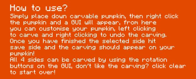 92d78  Carvable Pumpkins Mod 2 [1.7.10] Carvable Pumpkins (Halloween) Mod Download