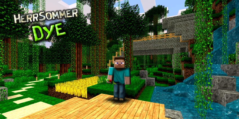 Planet Dye 3094635 [1.9.4/1.8.9] [64x] HerrSommer Dye Texture Pack Download