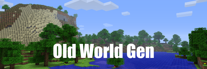 d60b3  Old World Gen Mod [1.7.10] Old World Gen Mod Download