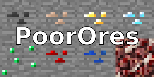 f459e  PoorOres Mod [1.7.10] PoorOres Mod Download