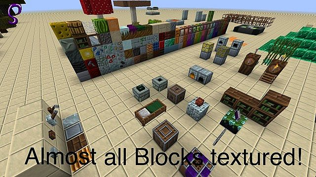 f5735  Spire resource pack 5 [1.9.4/1.8.9] [64x] Spire Texture Pack Download