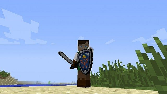 X Zelda Sword Skills Texture Pack Download - Skins para minecraft zelda