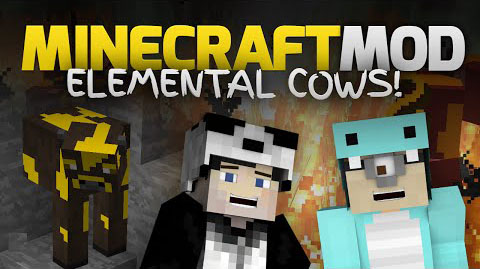 30192  Elemental Cows Mod [1.7.10] Elemental Cows Mod Download