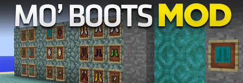 4c4e3  Mo Boots Mod [1.7.10] Mo' Boots Mod Download