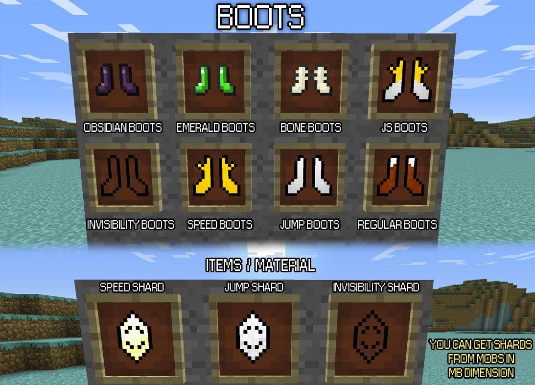 d11f0  Mo Boots Mod 3 Mo' Boots Screenshots