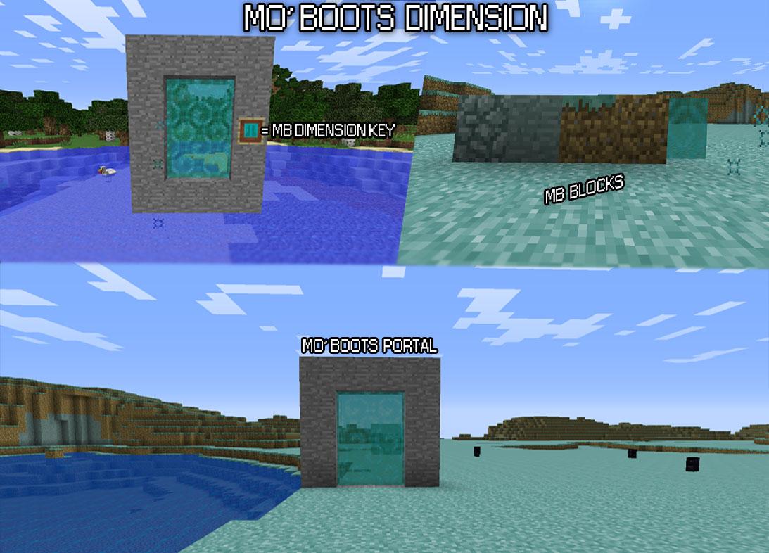 d41df  Mo Boots Mod 1 Mo' Boots Screenshots