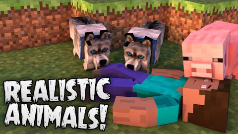 edef2  Hungry Animals Mod [1.7.10] Hungry (Realistic) Animals Mod Download