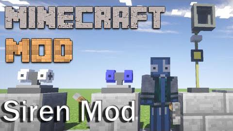 349e1  Siren Mod [1.7.10] Siren Mod Download