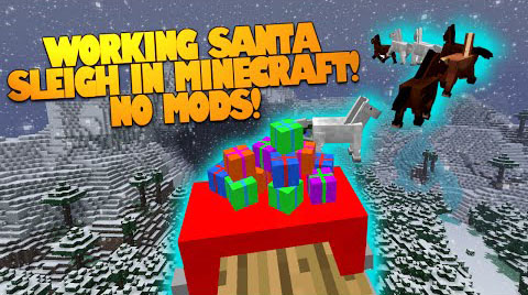 5c7a3  Santa Sleigh Map [1.8] Santa Sleigh Map Download