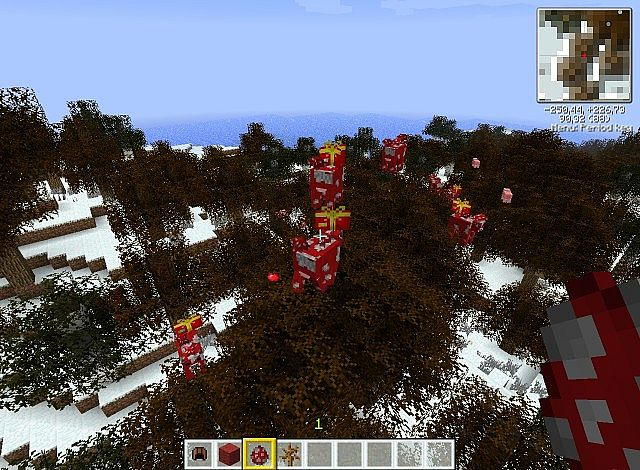 7744c  Christmas texturepack 2013 6 [1.9.4/1.8.9] [16x] Christmas Texture Pack Download