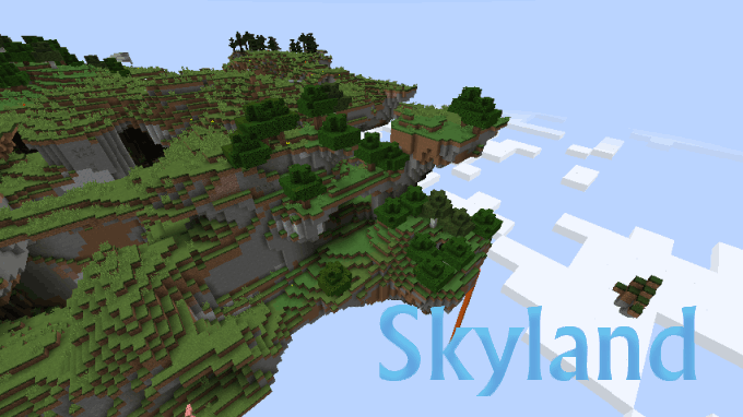 98817  Skyland Mod [1.7.10] Skyland Mod Download
